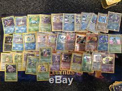 Énorme Lot Collection Carte Pokemon Vintage Holos Ultra Plus De 200 Wotc Rares Rares