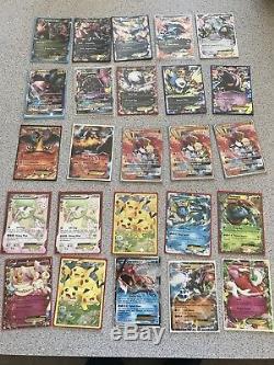 Énormes Cartes Pokémon Lot 261 Carte, Ultra Rare, Charizard, Art Complet, Gx, Ex, Tous Nm / MM