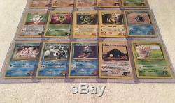 Ensemble Complet De Cartes Pokemon Gym Hero / 132 All Holo Rare Full Whole Collection