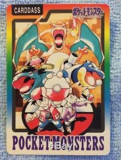 Ensemble Complet De Pokémon Japonais 1997 Carddass Avec Reliure Et Cartes Index Spéciales
