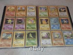 Ensemble De Base Complet 102/102 Near Mint / Mint Pokemon Cards Charizard 4/102 Rare