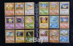 Ensemble De Base Complet Pour Carte Pokemon Wotc Holo 102/102 Rare 1999 Charizard Blastoise