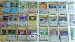 Ensemble De Base Japonais Pokemon Complet 102/102 Neuf, Menthe-ex Holos, Rares, Uc, C Cards 1996