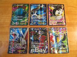 Ensemble De Cartes Master Pokemon Xy Base Complète / 146 Full Art Inversé Holo Rare X Et Y