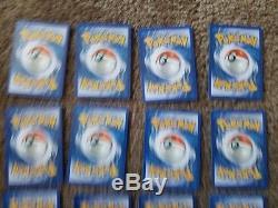 Ensemble De Cartes Pokémon Rares Et Puissantes! Tous Dans Une Extrême Grande Condition