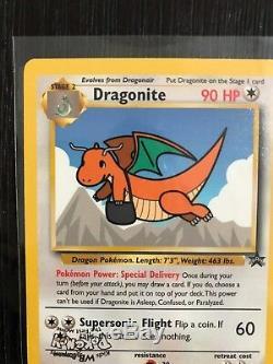 Erreur De Timbre Inversé Dragonite Black Star Promo Carte Pokémon N ° 5