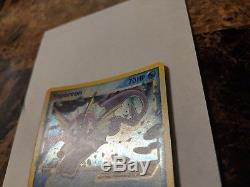 Étoile Dorée Carte Vaporeon Pokemon Ex 102/108 Très Rare En Parfait État Absolu