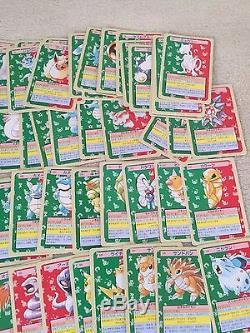 Excellent Très Rare Japan Pokemon Carte Complète Monstre De Poche Topsun Nintendo