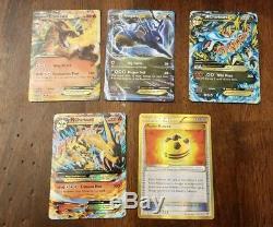 Extraordinaire Énorme Lot De Cartes Pokemon 1700+ Ex Collection D'art Ultra Ultra Holo Ex Gx