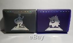 Extrêmement Rare 2002 Japonais Gb2 Tournoi Mewtwo Gengar Deck Box Case