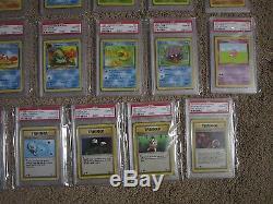 Fossil Complete 32 Psa 10 Gem Mint Cartes Pokémon Fréquent Et Communs 31-62 S25