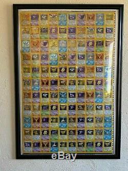 Fossil Pokemon Holo Rare Feuille Non Coupé (110 Cartes) Kay Bee Jouets Encadré De Excellent