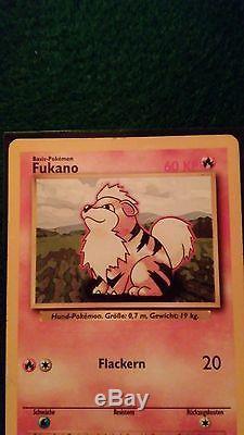 Fukano Pokemon Card 28/102 Ultra Rare Empreinte Nm