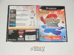 Gamecube, Pokemon Box Rubis & Saphir Complet Avec Big Box Rare, Carte Mémoire