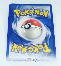Gold Star Mudkip Holo Carte Pokémon Équipe Rare Retour Rocket Set 107/109 Originale