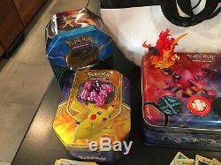 Grande Collection De Pokémon / Lot 100s De Cartes, Rares / Holos, Deck Boxes Et Tins