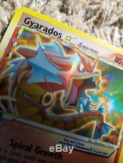 Gyarados 2006 Delta Species Carte Étoile Pokemon, 102/110, Très Rare, Nearmint