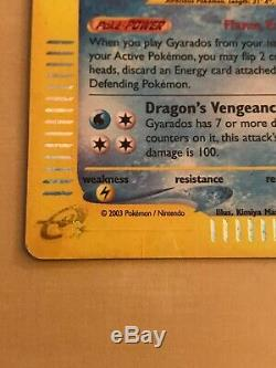Gyarados H10 / H32 Skyridge Holo Rare Mp / HP Carte Pokémon
