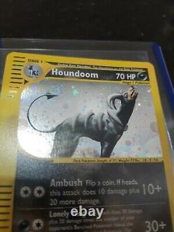 Houndoom H11 / H32 Skyridge Rare Holo Carte Pokemon