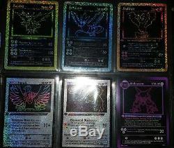 Jeu Complet De Cartes Pokemon 78/78 15 Holo 1 Secret Rare Cartes Personnalisées Lot