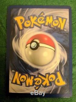 Jeu De Base Shadowless De La 1ère Édition De Mewtwo Carte De Pokemon Rare De La Nm Holo 10/102 Misprint