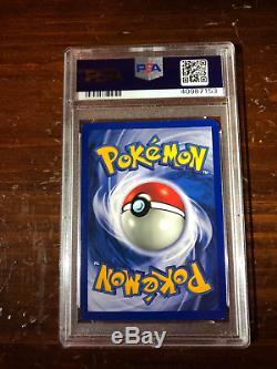 Jeu De Cartes Pokemon 1999 Jeu De Base Charizard Unlimited Holo Rare 4/102 Psa 9