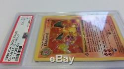 Jeu De Cartes Pokemon 1ère Édition Shadowless Charizard Holo 4/102 Psa 6 Rare