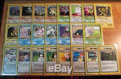 Joué Complete Pokemon Gym Hero Card Set / 132 Tous Holo Rare Collection Complète Tcg