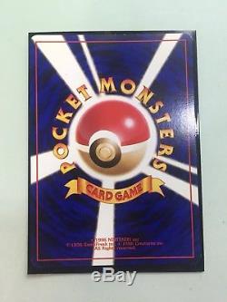 Kangaskhan 1998 Carte De Trophée Parent Pour Enfants Promotion Japonaise Très Rare