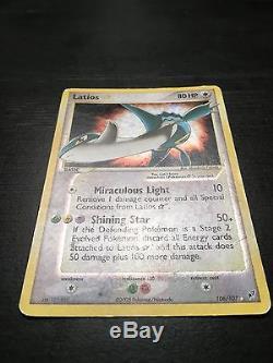 Lions Gold Star Holox Ex Deoxys Ultra Rare Anglais Grande 4.5 / 10 Pokemon Card