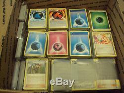 Lot De 5000 Plus De Cartes Pokémon Super Rares Ex Gx Holos Vintage Holos Vintage