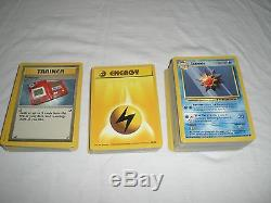 Lot De Cartes De Base De Pokémon (21) Packs De Rappel Non Ouverts Et (165) Cartes À Puce Rares