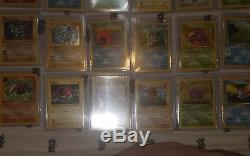 Lot De Cartes Pokemon. 1ère Édition, Shadowless, Holo, Rare, Charizard Original
