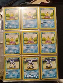 Lot De Cartes Pokemon 500+ Nm / M. Plusieurs Rares / Holos! Principalement Base / Jungle / Gym