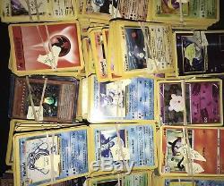 Lot De Cartes Pokemon Sur 1000 Cartes Base Set À Holos Rares Énorme Lot