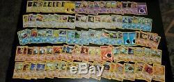 Lot De Cartes Vintage Pokemon Holos Rares 1st Edition Shadowless