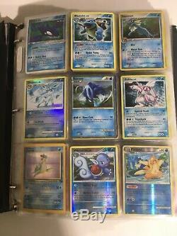 Lot De Reliure Pokemon Occasion Etat Aprx 1000 Cartes Ancien Et Nouveau Lot Énorme Rare