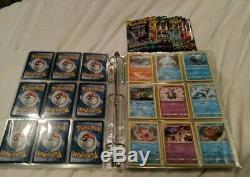 Lot De Reliures De Cartes Pokémon Rares, Ex, Gx, Boosters, Holos, Vintage, Etc.