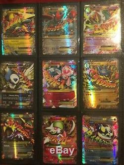 Lot Énorme De 36 Cartes Pokemon Gx, Mega, Ex Et Ultra, Toutes En Excellent État