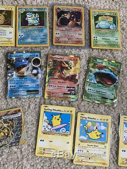 Massive Rare Old Pokemon Card Collection Lot Holographic Grande Condition