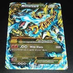 Mega M Charizard Ex 108/106 Xy Flashfire Secret Rare Near Mint Pokemon Card