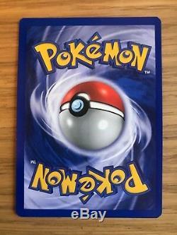 Menthe! 1ère Édition Dragonite Clair (14/105) Carte Pokemon Neo Destiny Holo! Rare