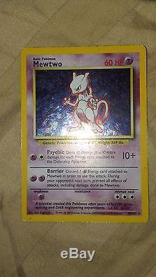 Mewtwo 1995 Carte