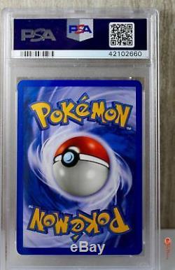 Mewtwo Ex Rare Holo Carte Pokémon Rubis Et Saphir 101/109 Set Psa 10 Gem Mint