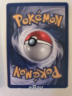 Mewtwo Holo Pokemon Carte Brillant Rare Original 10/102 Étoile 60 Ch Très Bon État