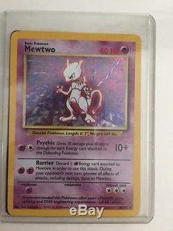 Mewtwo Holographic 10/102 Carte Pokémon Rare