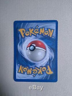 Mewtwo Rare Holo Carte Pokémon Originale 10/102