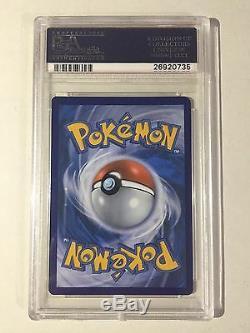 Mewtwo (pop5) Psa 10 Gem Mint 51/108 Carte De Holo Glace Fissurée Rare