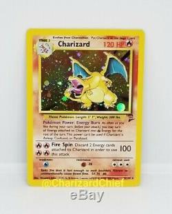 Monnaie Charizard Holo Rare Carte Pokemon 4/130 Classique Foil Collection Originale