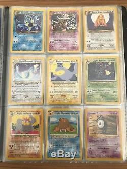 N / M-mint Terminer Neo Destiny Set 105/105 Cartes Pokémon. Rare! Rapide Et Gratuit P & P